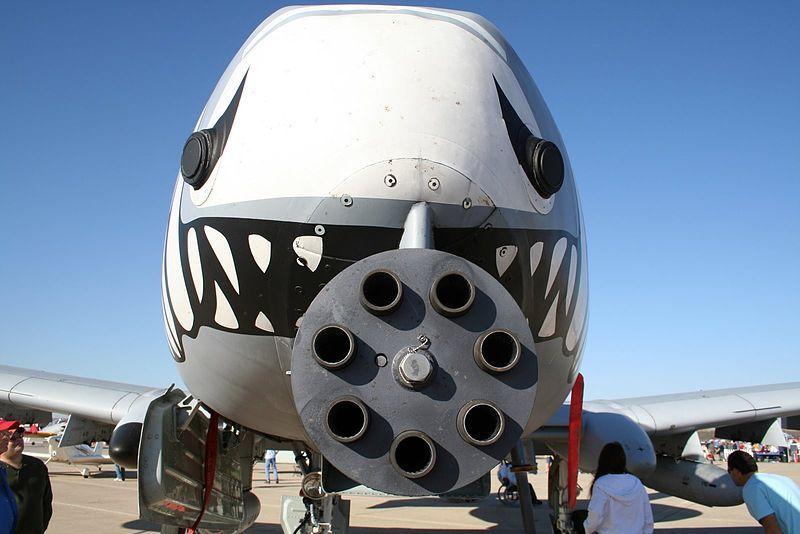 A-10 Warthog, designed by Col John Boyd