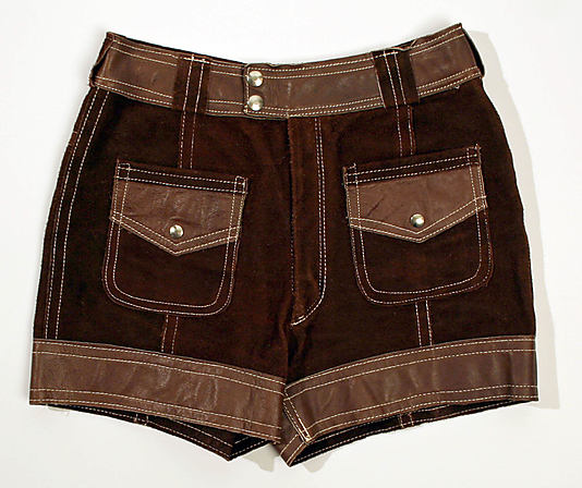 Mexican shorts, 1970, Museum of Modern Art, NYC