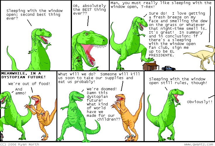 Dinosaur Comix, by Ryan North