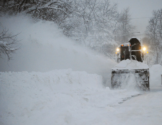 Buffalo is well-equipped and expert at snow removal. Foto: Gary Wiepert/AP