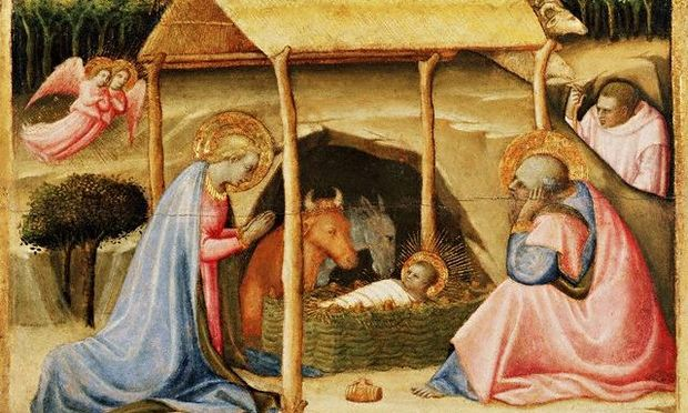 A 15th century nativity scene by Paolo Schiavo.